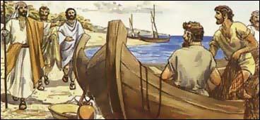 Sea of Galilee fishermen